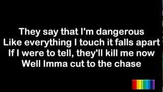 Dappy - Rockstar ft. Brian May - Lyrics - HD