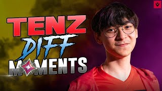 8 Minutes Of TenZ Diff Moments In Valorant