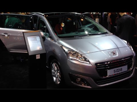 Peugeot 5008 2015 In detail review walkaround Interior Exterior