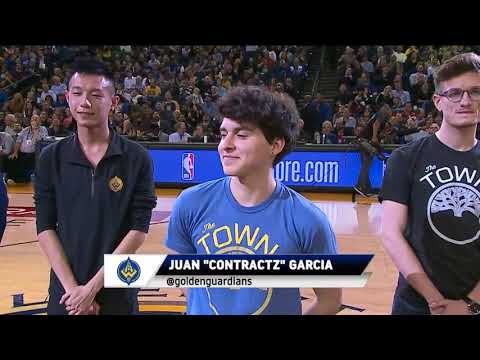 Golden State Warriors introduce Golden Guardians League of Legends Team