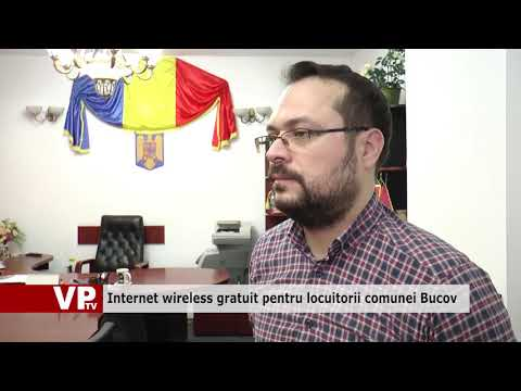 Internet wireless gratuit pentru locuitorii comunei Bucov