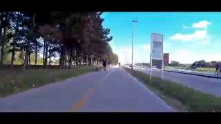 Sjcam SJ4000 hypertimelipse X16 bike