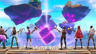 FORTNITE CUBE EXPLODES above LOOT LAKE! (Fortnightmares Event!)