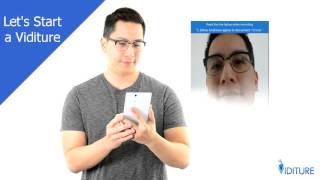 Viditure - video signature / unique video identity authentication and verification solution
