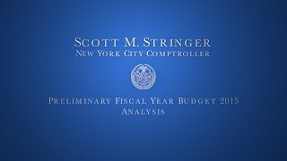 Analysis of New York City's FY 2015 Preliminary Budget
