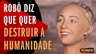 Inteligência Artificial Vira Nazista Sexual - Robô quer Destruir Humanidade | 5 Vídeos Absurdos