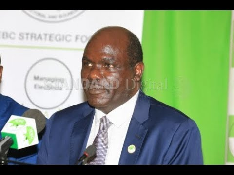 Wafula Chebukati: I would rather go out with my name intact and head high
