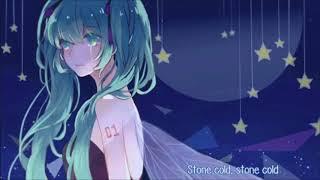 []Nightcore♡[] Stone Cold 1 Hour