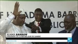 GAMBIE - Adama Barrow investi président à Dakar au Sénégal !