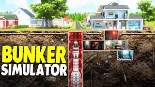 NEW - CUSTOM SURVIVAL BUNKER SIMULATOR - Build YOUR OWN Bunker to Survive a Apocalypse | Mr. Prepper