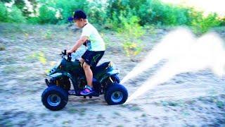 Матвей НАШЕЛ КВАДРОЦИКЛ в лесу!!! Видео для детей Video For Kids Children Матвей Котофей