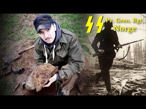 Metal detecting German woods for WW2 treasure  - Iron Mike