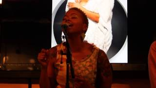 "Chrisette Michele ""Rich Hipster"" Live Acoustic Performance 6/10/13"