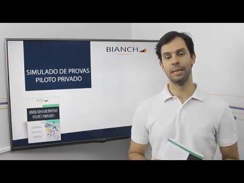 Livro Simulado de Provas - Piloto Privado | Editora Bianch