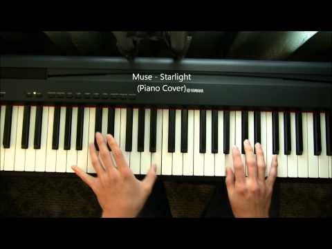 Muse Starlight Piano Cover Chords