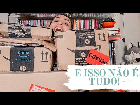UNBOXING DE LIVROS #12 : SEMANA DO CONSUMIDOR NA AMAZON (PARTE 1) | Os Livros Livram