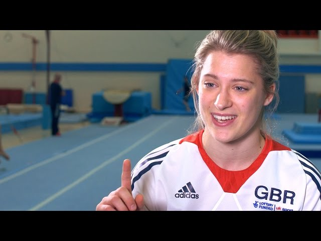 Lucie Colebeck - Tumbling World Championships