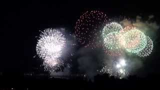 preview picture of video 'Feuerwerk Seenachtfest Konstanz / fantastical Kreuzlingen 2013'