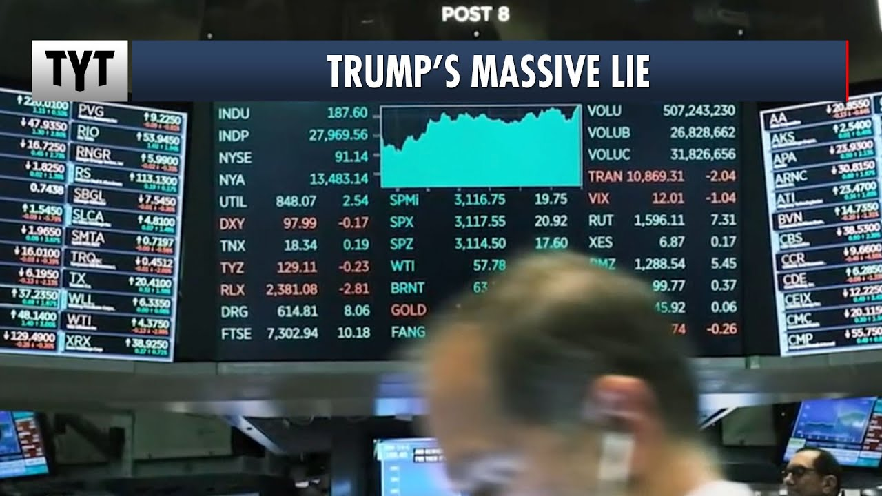 Trump Warned Wall Street But Lied To Main Street About COVID-19 thumbnail