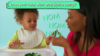Is your baby ready to start eating foods?
