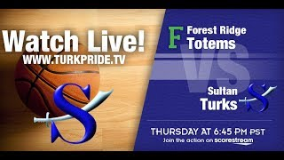 Girl's Basketball - Sultan vs. Forest Ridge