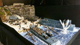 How to make miniature underwater dystopian cityscapes most diorama 135 dbarquement the d daythe making fandeluxe Images
