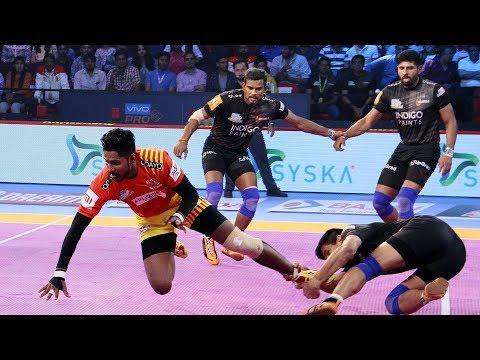 Pro Kabaddi 2018 Highlights | Gujarat FortuneGiants vs U Mumba | Hindi