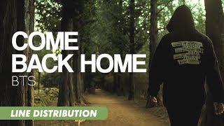 BTS (방탄소년단) - Come Back Home   Line Distribution