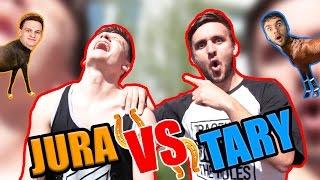 PARKOUR HORSE CHALLENGE #1   JURA VS. TARY