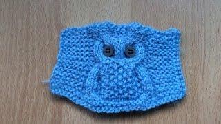 "Modelul "" Bufnita"" pentru incepatori. Узор ""Сова"" (Knitting. Pattern ""Owl"") step by step"