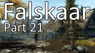 FALSKAAR Skyrim Mod Let's Play - WIR SCHLACHTEN WEITER - Part 21