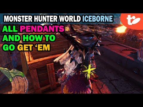 All Pendants and How to Get Them in Monster Hunter World Iceborne 【MHWI】