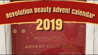 Revolution Advent Calendar 2019 unboxing