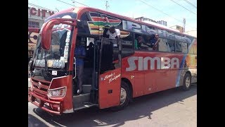 Several people have been injured in an accident involving a Simba Coach bus at Mpeketoni-Lamu