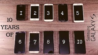 Every Samsung Galaxy S  Speed Test Comparison 2019!  S1 S2 S3 S4 S5 S6 S7 S8 S9 S10