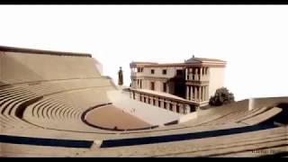Teatro greco di Siracusa ricostruzione 3d (video)