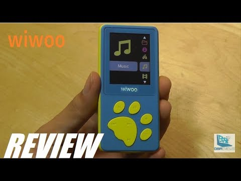 REVIEW: Wiwoo B4 – HiFi MP3 Music Player for Kids