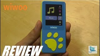 REVIEW: Wiwoo B4 - HiFi MP3 Music Player for Kids
