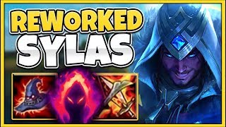 *MINI-REWORK* SYLAS E CAN NOW ONE-SHOT ANYONE?!? (RIOT NERF THIS) - League of Legends