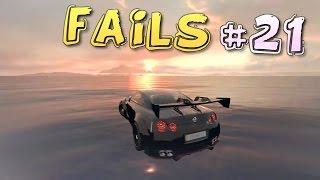 Racing Games FAILS Compilation #21