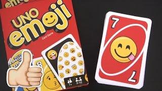 UNO Emoji Card Game from Mattel