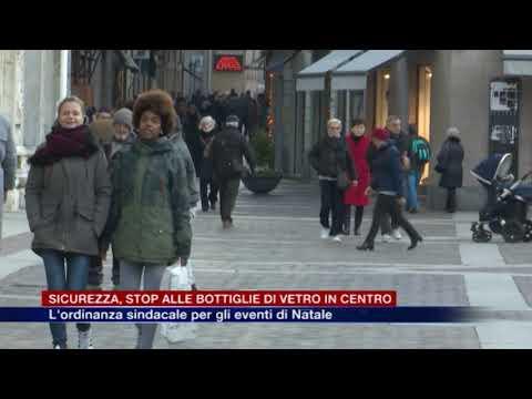 Etg - Sicurezza, stop alle bottiglie di vetro in centro. L'ordinanza per gli eventi di Natale