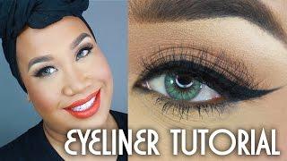 How To Winged Eyeliner Tutorial | PatrickStarrr