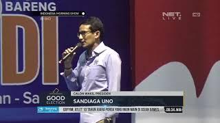 Sandiaga Uno Kembali Menawarkan Tagline OK OCE - IMS