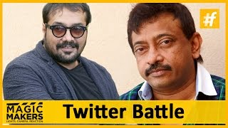 """I Love Him But Anurag Kashyap Hates Me""  Ram Gopal Verma  Magic Makers"