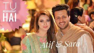 Atifaslam & Sara bharwana | tu Mohabbat hai