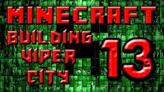 preview picture of video 'Minecraft Building Viper City Minute Build 1 - The Curve Wall'
