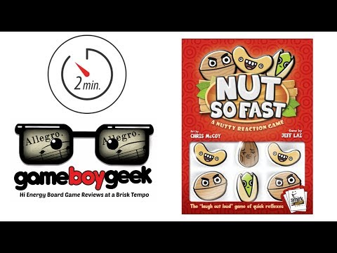 The Game Boy Geek's Allegro (2-min Review) of Nut So Fast