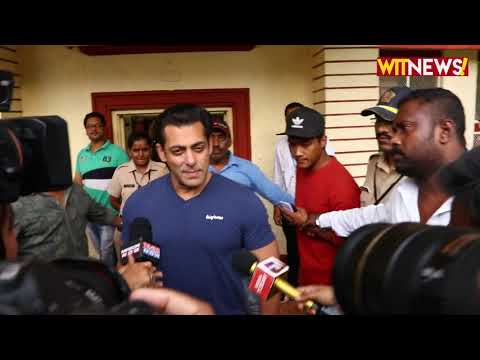 Salman Khan steps out in the city to cast his vote | Maharashtra Assembly Elections 2019