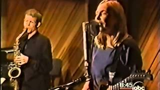 Joni Mitchell - David Sanborn Interview & The Crazy Cries Of Love (Live 1998)